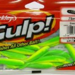 Berkley Gulp Minnow Green Chartreuse